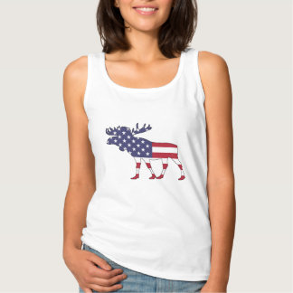 """Moose """"American Flag"""" Singlet"""