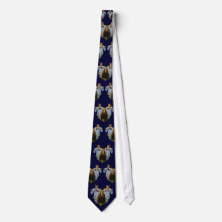 Moose and mountain goats tie