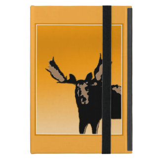 Moose at Sunset Cover For iPad Mini