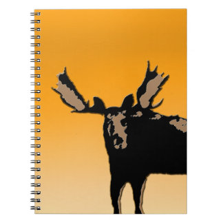 Moose at Sunset Notebooks