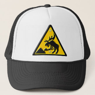 Moose At Work Trucker Hat