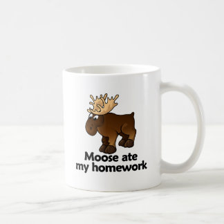 Moose ate my homework coffee mug