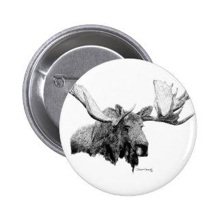 Moose Pin