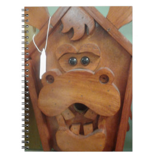 Moose Bird Feeder Products Spiral Note Book