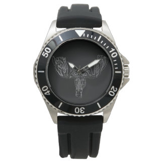 """Moose"" Black. Private Collection Watch"