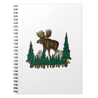 Moose Country Notebook