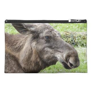 Moose Cow Profile Shot Travel Accessories Bag