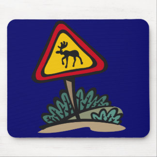 """Moose Crossing"" Moosepad Mouse Pad"