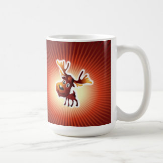 Moose Crossing Mug