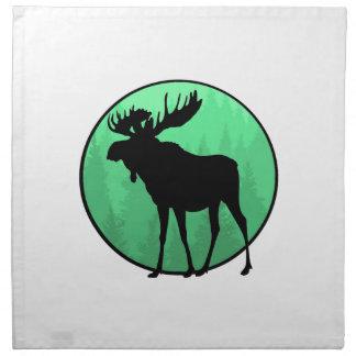 Moose Domain Napkin