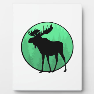 Moose Domain Plaque