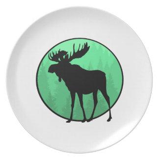 Moose Domain Plate