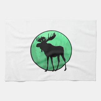 Moose Domain Tea Towel