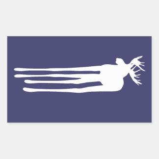 Moose Drippings Rectangular Sticker