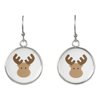 Moose Drop Earrings