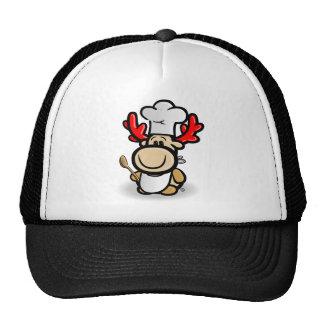 Moose Elmondo as a cook Hats