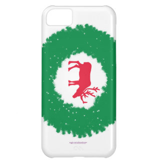 Moose for Christmas | Happy Holiday Moose iPhone 5C Case