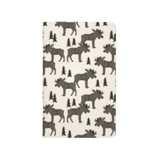 Moose Forest - Dark Brown Cream / Andrea Lauren Journals