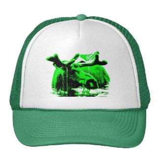 moose green cap