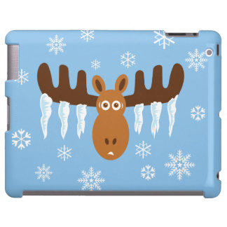 Moose Head_Icicle Antlers_Humorous Holidays