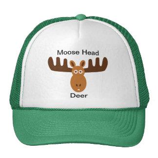 Moose Head_Moose Head Deer Cap