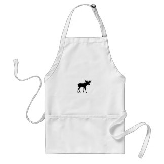 Moose Icon Standard Apron