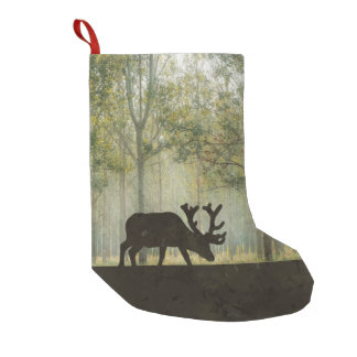 Moose in Forest Illustration