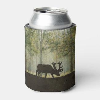 Moose in Forest Illustration