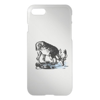 Moose in Stream iPhone 8/7 Case