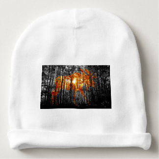 Moose in the Trees Baby Beanie