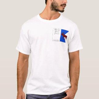 Moose Island Alpha - Large Flag T-Shirt