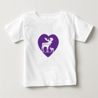 Moose Lamb Love Baby T-Shirt