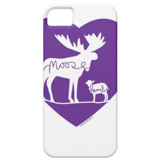 Moose Lamb Love Barely There iPhone 5 Case