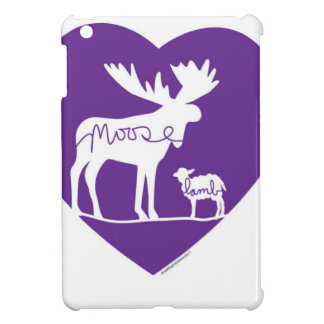 Moose Lamb Love Cover For The iPad Mini