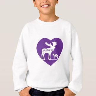 Moose Lamb Love Sweatshirt