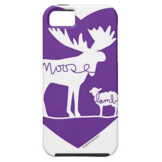 Moose Lamb Love Tough iPhone 5 Case