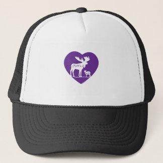 Moose Lamb Love Trucker Hat
