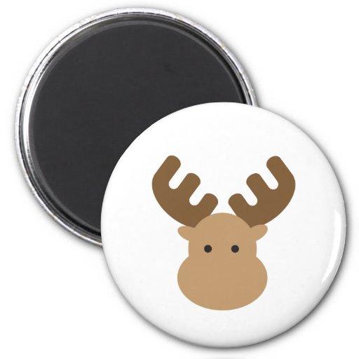 Moose Refrigerator Magnets