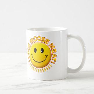 Moose Meat Smile Coffee Mug