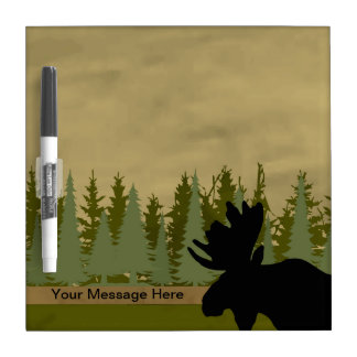 Moose Memo Board Dry Erase White Board