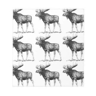 moose mess notepad