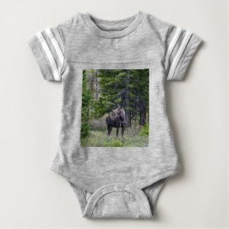 Moose Mother Baby Bodysuit