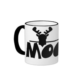 Moose Ringer Coffee Mug