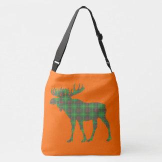 moose Newfoundland tartan Bag orange