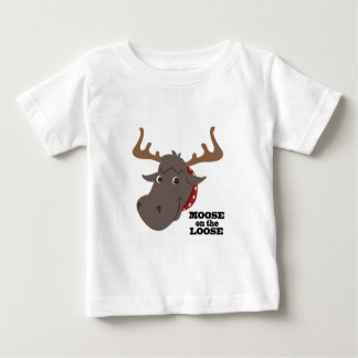 Moose On Loose Baby T-Shirt