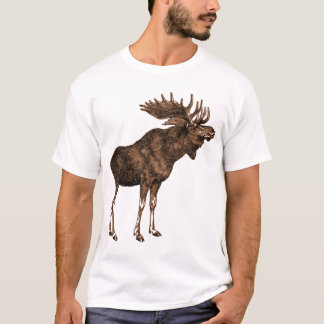 moose on shirt