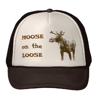 Moose on the Loose Cap