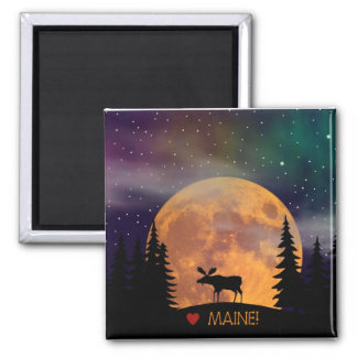Moose on the Loose Magnet