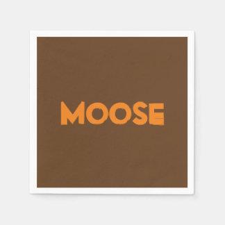 Moose Paper Napkins