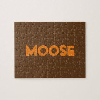 Moose Photo Puzzle